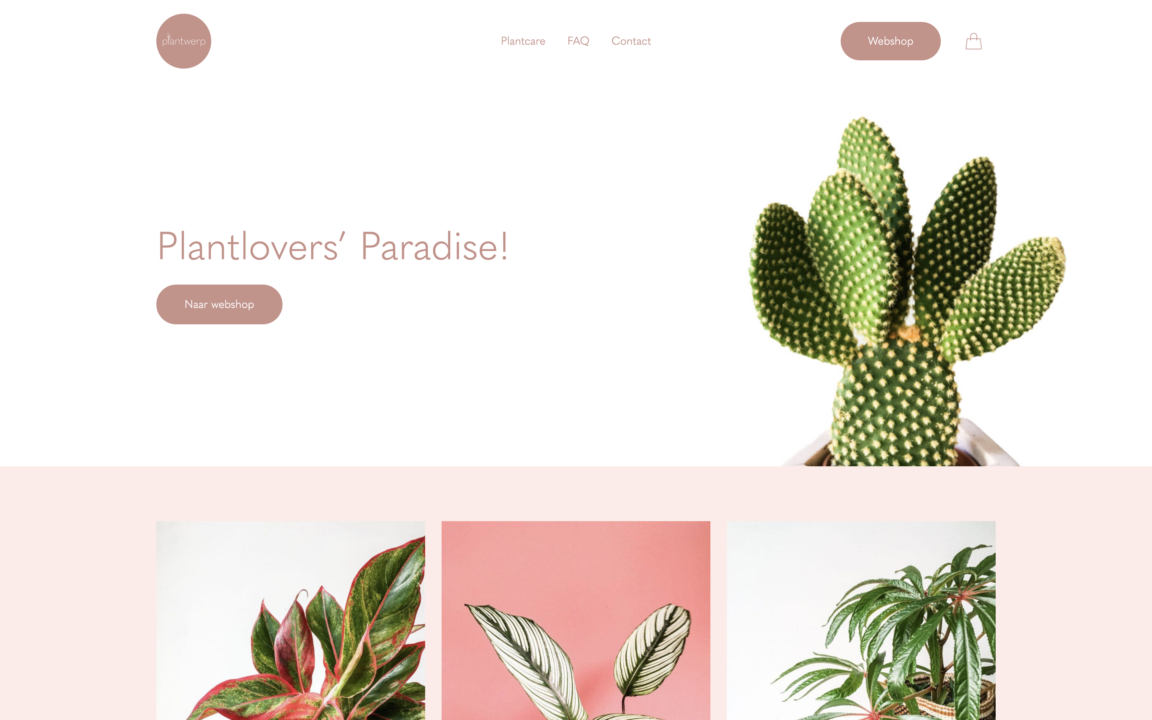 Plantwerp screenshot